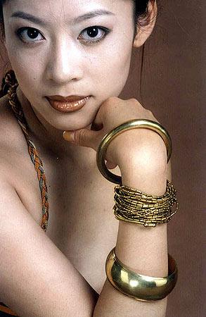 guess&elle国际模特大搜索--选手范妮佳