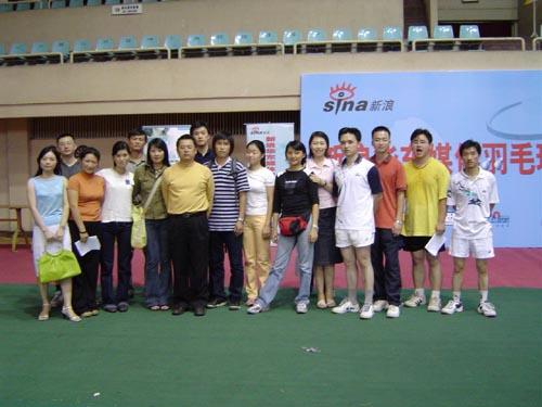 杭州市人口-杭州图片 联谊赛杭州站全体人员合影