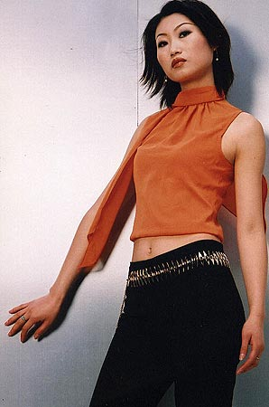 guess&elle国际模特大搜索--选手刘璐