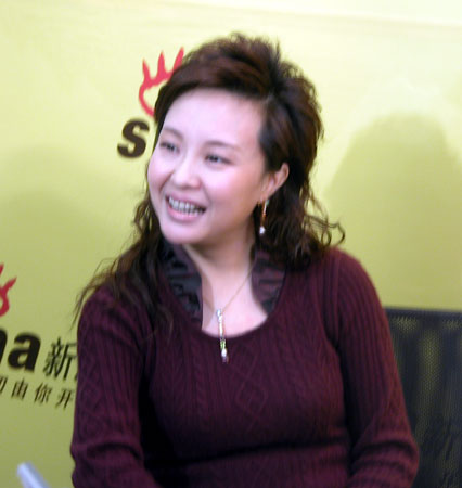 东方卫视著名节目主持人叶蓉做客新浪聊天实录
