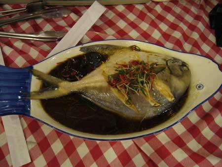 衢山岛海鲜—鲳鱼
