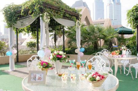 欧式小镇婚礼花园