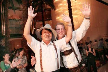 2007上海德国啤酒节狂欢开幕派对