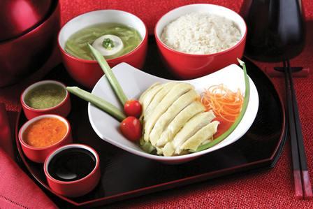 无限新加坡美食 特制海南鸡饭