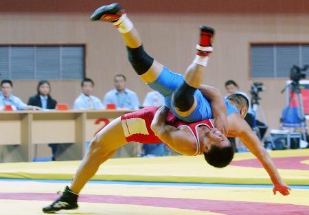 自由式摔跤比赛规则_摔跤运动的介绍_新浪上海