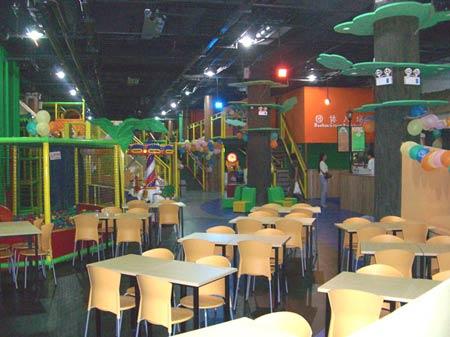 大型室内儿童主题餐厅游乐园布奇儿童天地现身沪上