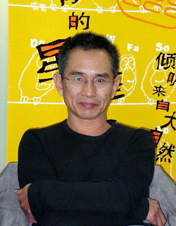 搞笑传情短信_图文:网友热情提问台湾艺术家 林怀民目光炯炯-新浪上海站